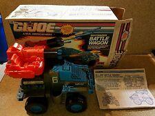GI Joe 1991 Battle Wagon Complete w Box & Instructions Works Great.