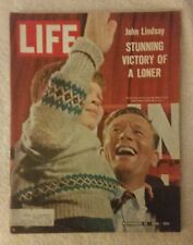 LIFE Magazine November 12, 1965; John Lindsay-Stunning Victory of a Loner-RARE!!