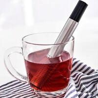 Portable Tea Strainer Stainless Steel Pipe Mesh Coffee Tea Infuser Filter Tools