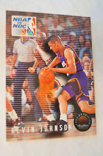 NBA CARD - Sky Box - NBA on NBC Series - Kevin Johnson - Suns vs Bulls.