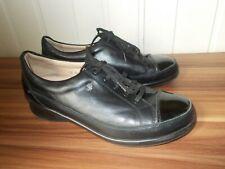 Chaussures petit talon derbies cuir noir FINN CONFORT 6.5 39/40
