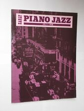 Chris ELLIS/Peter FOSS presto pianoforte jazz 1911-1938 Spartiti Musicali LIBRO. 1989.