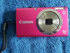 Canon PowerShot A2300 16.0MP Digital Camera - Red