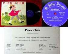 LP Pinocchio - Musik von Scarlatti