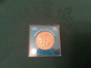 Charles & Diana Royal Wedding Barclays Bank commemorative coin in case 1981