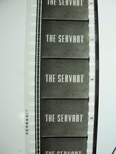 THE SERVANT 1963 35mm movie teaser trailer DIRK BOGARDE reviews only