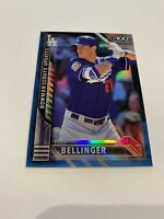 2016 BOWMAN CHROME BLUE REFRACTOR TOP 100 ROOKIE CODY BELLINGER RC /150