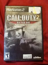 Call of Duty 2: Big Red One (Collector's Edition) (Sony PlayStation 2, 2005)