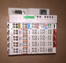 Wago 750-830, BACnet / IP 32-Bit-CPU w/ 3x 750-514 OUTPUT 1x 750-430 Input PLC