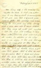 Civil War 1863 Union Soldier Autograph Letter Handwritten Adams County