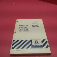 NEW HOLLAND TRACTOR REPAIR MANUAL TL70, TL80, TL90, TL100 SECTION 21 (LT235)