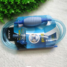 Siphon Vacuum Pump Gravel Cleaner Aquarium Fish Tank Water Filter Syphon Hose