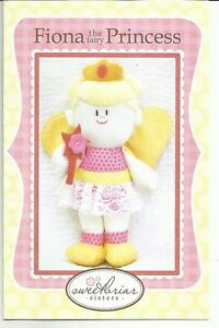 """""""Fiona the Fairy Princess"""" soft toy by Sweetbriar Sisters"""