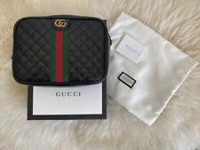 Gucci Quilted Shoulder Mini Bag 536441 0ykat 1060 Calf Black