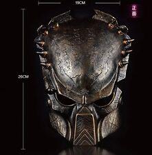 Alien vs Predator Mask AvP Movie Replica Collection Predators Prop Free P&P