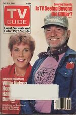 1983 TV Guide Willie Nelson and Anne Murray Country Music Awards Co-Hosts