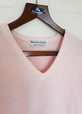 Mens chic BURBERRYS 100% cotton size large. Immaculate RRP £175