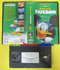 film VHS IL MIO EROE PAPERINO 2004 WALT DISNEY VS 5207 51 minuti (F20) no dvd