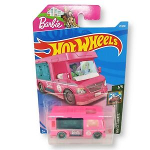 HOT WHEELS BARBIE DREAM CAMPER HW GETAWAYS New Sealed Long Card 21/250 Mattel
