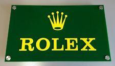 Werbung Schild Rolex Formel 1 Plexiglas Daytona GMT Yacht Master Submariner TOP