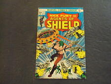 Nick Fury And His Agents Of Shield #4 Aug '73 Bronze Age Marvel Comics ID:53531