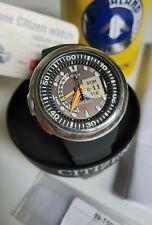CITIZEN Aqualand JV0000-28E Promaster diver watch uhr sub NEW STRAP Eco-Drive .