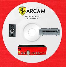 Arcam audio repair service manuals and schematics on 1 cd in pdf format