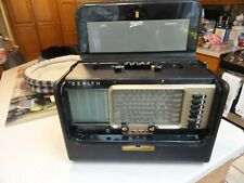 Vintage Zenith Trans-Oceanic Wave Magnet World Band Radio Model A600 Extra Clean