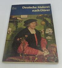 Libro: Deutsche pittura dopo Dürer i libri BLU Peter Strieder bu0592