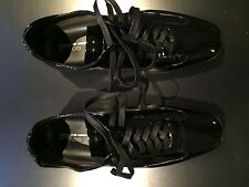 Porsche Design Tokyo L15 P1700 Black Leather Shoes EU40 Made in Italy NEW