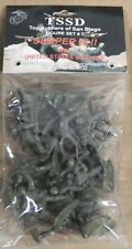 Toy Soldiers of San Diego #7 SEMPER FI PACIFIC MARINES Plastic Figures set 1/32