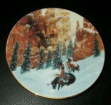 Faces of the Spirits Canyon Of The Cat Mini Plate Julie Kramer Cole #3613B