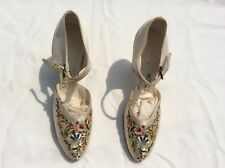 Antique Embroidered Shoes