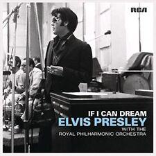 If I Can Dream [LP] by Elvis Presley/Royal Philharmonic Orchestra (Vinyl, Nov-2015, 2 Discs, Sony Music)