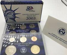 États-Unis 2003 Proof Comme neuf Ensemble de 50 State Quarters USA États Unis