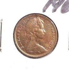CIRCULATED 1968 5 CENT AUSTRALIAN COIN (62716)!
