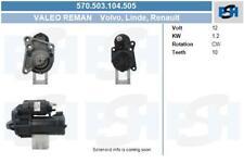 Valeo generalüberholt Anlasser für Startanlage 570.503.104.505 RENAULT