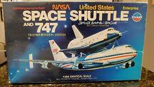 NASA Space Shuttle Enterprise & 747 Transportation UNION 1979 vintage kit 1:288