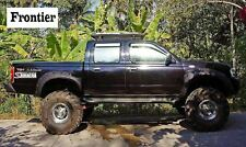 Nissan Navara D22 Double cab pickup Wide wheel arches fender flares extension.