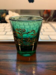 2005 Belmont Stakes Green Shot Glass - New