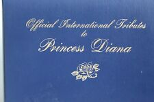 Official International Tribute to Princess Diana Postal Society Stamps EXCELLENT