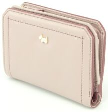 Radley Purse Wallet Dusty Pink Medium Tab Bifold Leather Womens Ladies RRP £89