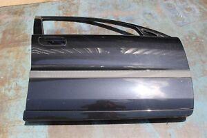 Volvo V70 01-07 S60 01-09 Right Front Passenger Door Shell BLACK SAPPHIRE