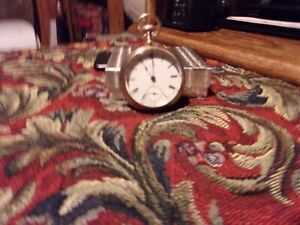 Antique 1883  Waltham Traveler Gold filled Pocket Watch Rare