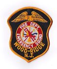 Wood-Ridge Fire Dept. Emergency Squad New Jersey Firefighter Patch