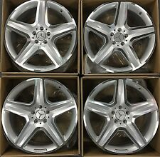 20 OEM MERCEDES BENZ 2017 GL AMG WHEELS RIMS GL350 GL550 GL450 ML  SET 4 NEW