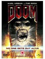 Doom (DVD, 2011) The Rock Dwayne Johnson Game based movie EXTENDED EDITION UK