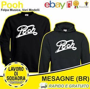 Felpa - Pooh - Facchinetti Battaglia Sony Music Musica Italiana Idea Regalo Rock