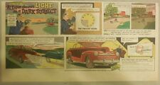 "Ford  Ad: ""Al Esper throws Light on a Dark Subject""  from 1940's"