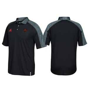 Team North America World Cup of Hockey Adidas Men's Black Coaches Polo Shirt